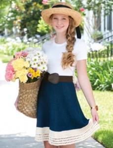 Farmer's Market Skirt