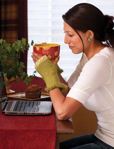 Wristlet Pattern | No. 9308 | Knitting Patterns